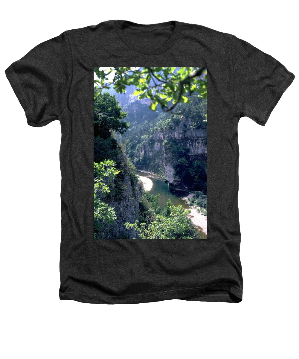 France Heathers T-Shirt featuring the photograph Tarn by Flavia Westerwelle