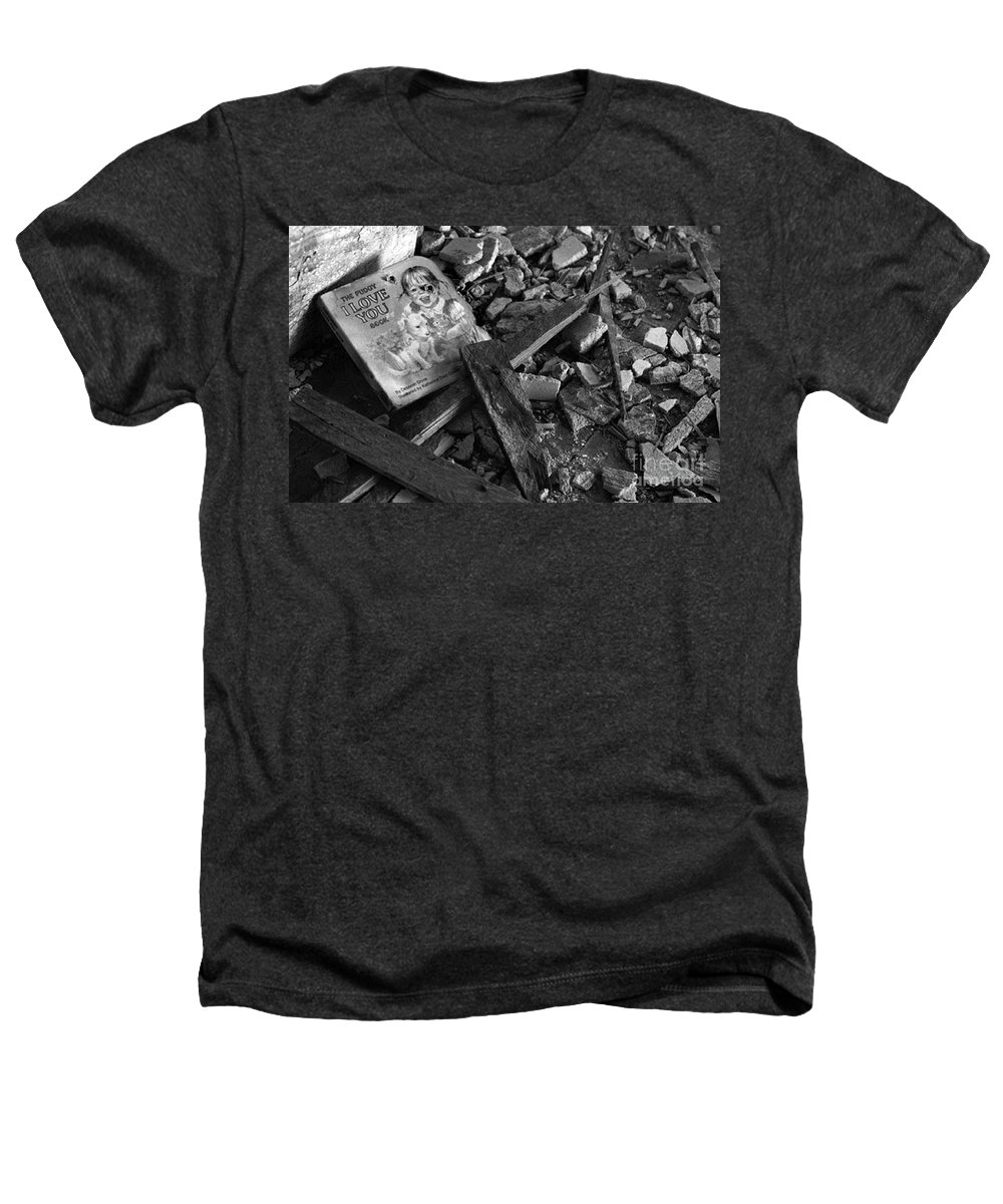 Dark Art Heathers T-Shirt featuring the photograph Tell Me A Story by Peter Piatt