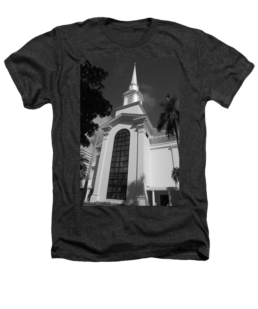 Architecture Heathers T-Shirt featuring the photograph Thats Church by Rob Hans