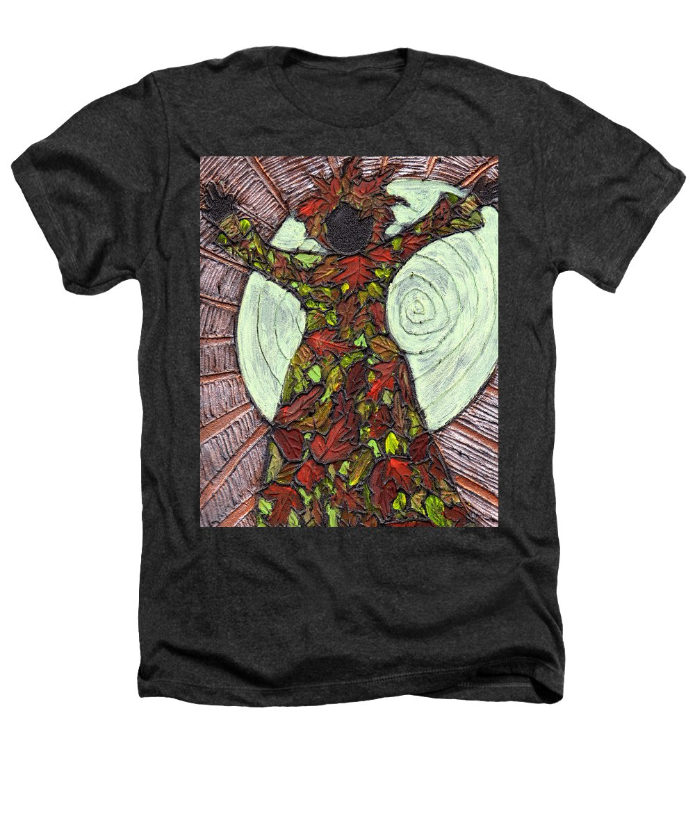 Autumn Heathers T-Shirt featuring the painting The Coming Of Autumn by Wayne Potrafka
