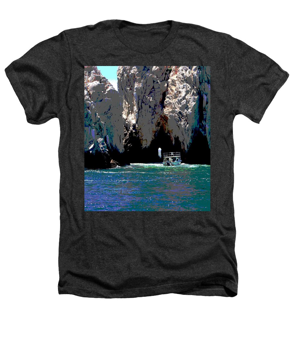 Mexico Heathers T-Shirt featuring the photograph The Keyhole Mexico Cabo San Lucas by Heather Coen