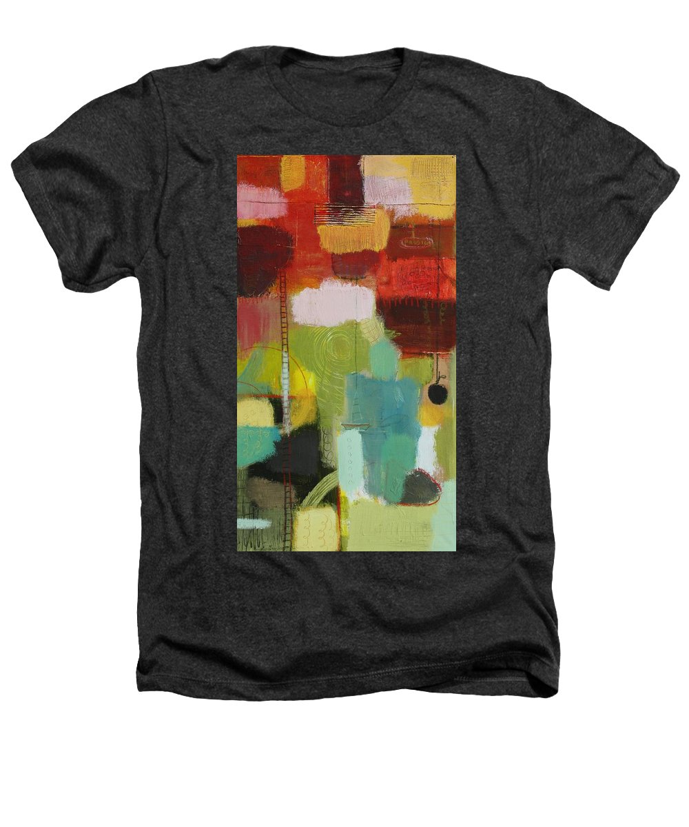 Abstract Heathers T-Shirt featuring the painting The Ladder Of Life by Habib Ayat