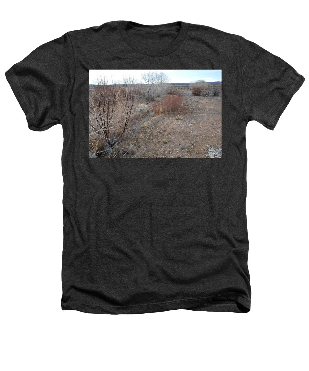 River Heathers T-Shirt featuring the photograph The Mighty Santa Fe River by Rob Hans