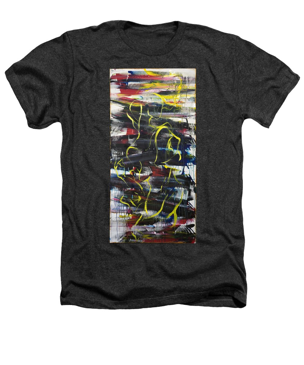 Black Heathers T-Shirt featuring the painting The Noose by Sheridan Furrer
