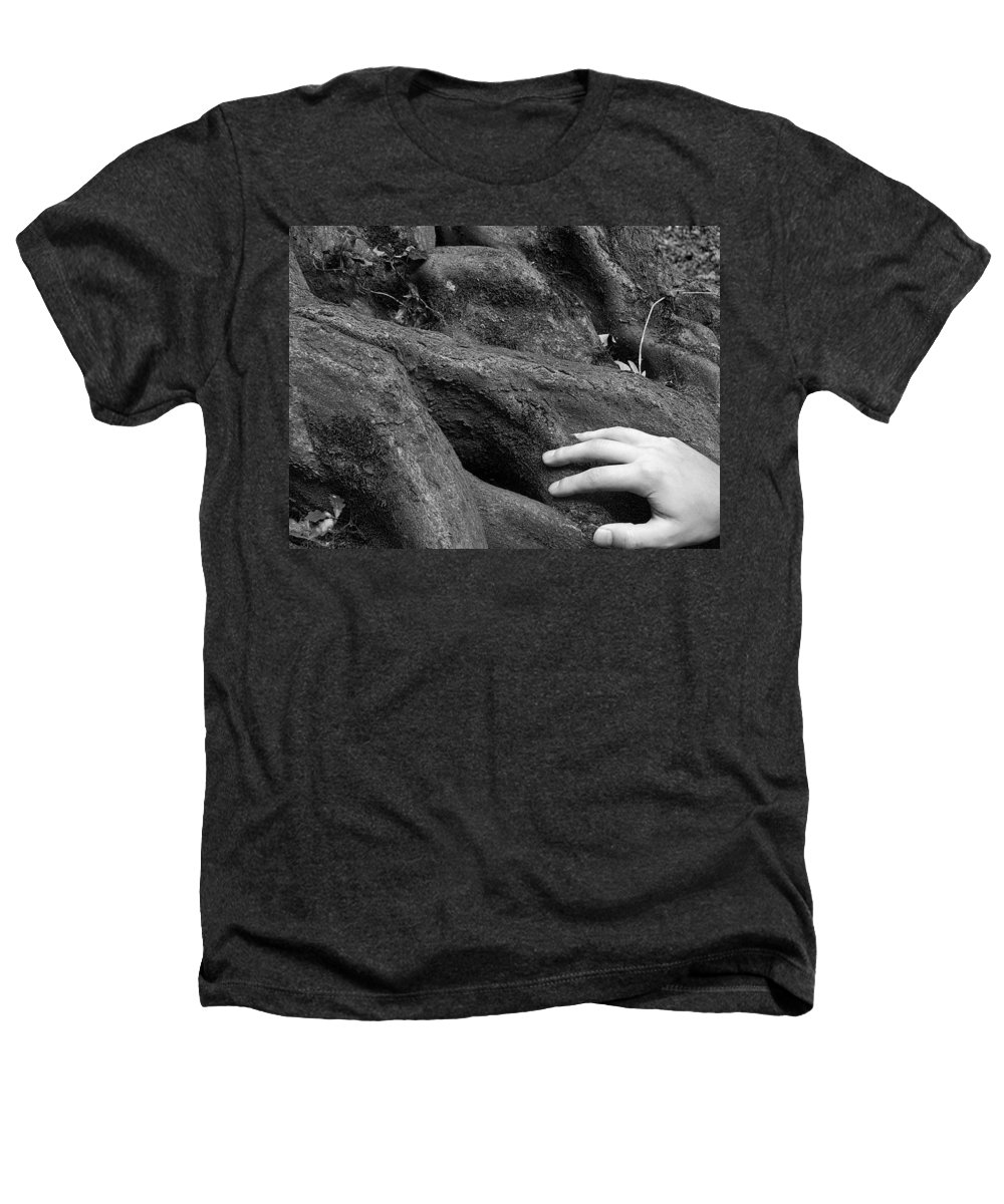 Nature Heathers T-Shirt featuring the photograph The Roots by Daniel Csoka