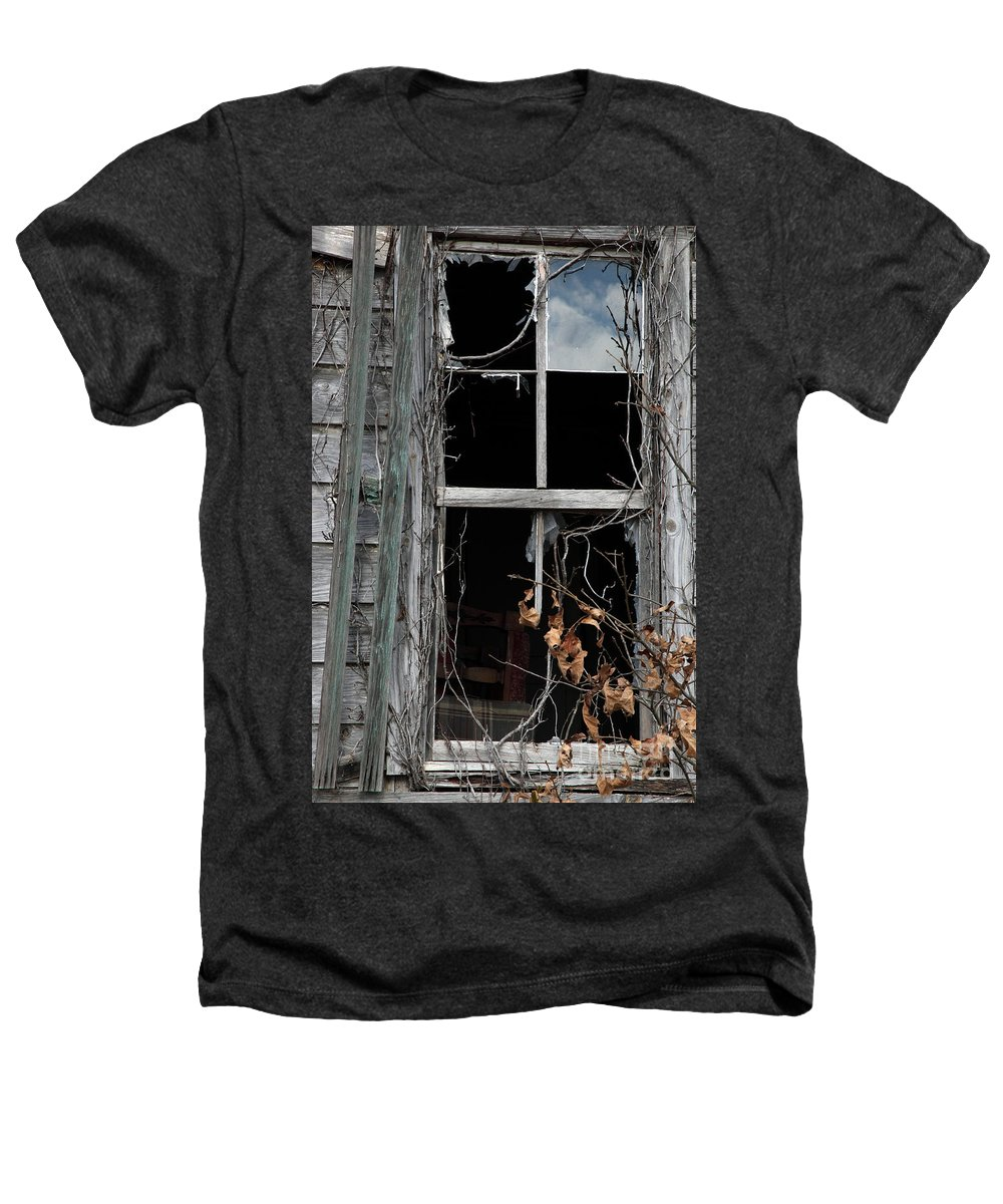 Windows Heathers T-Shirt featuring the photograph The Window by Amanda Barcon
