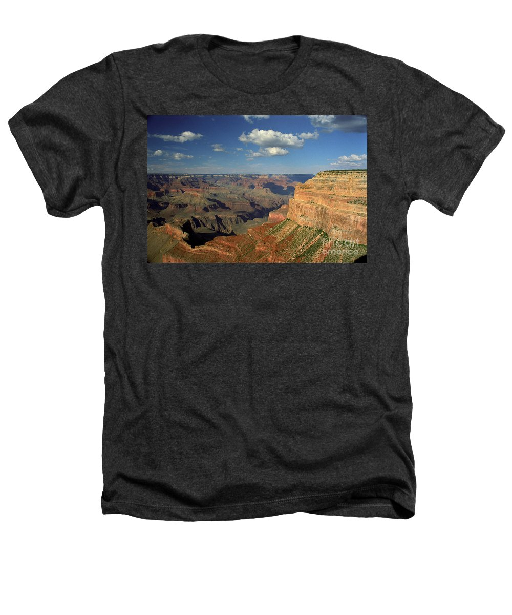 Grand Canyon Heathers T-Shirt featuring the photograph This Is My Father's World by Kathy McClure