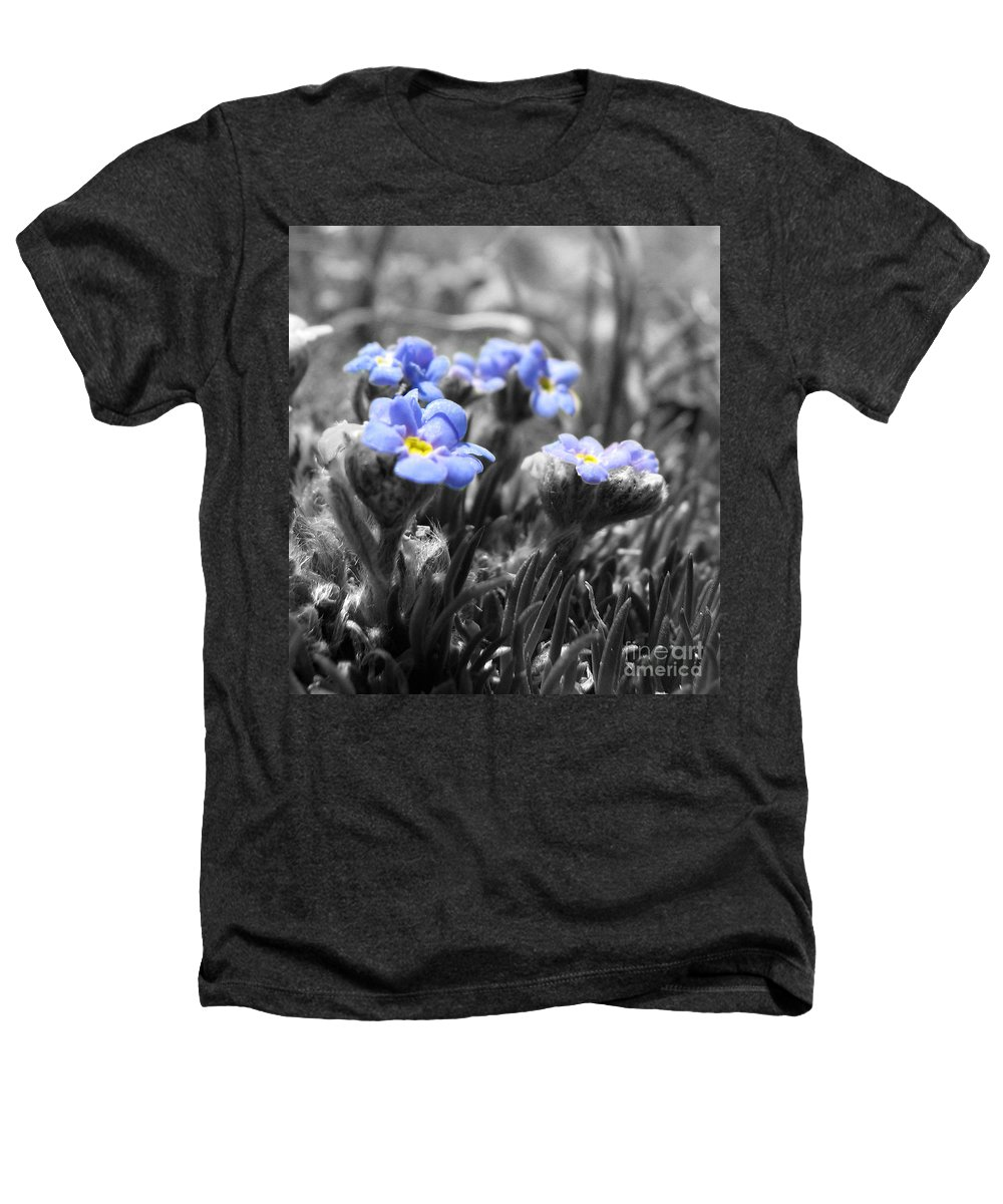 Flowers Heathers T-Shirt featuring the photograph Tiny Gems by Amanda Barcon