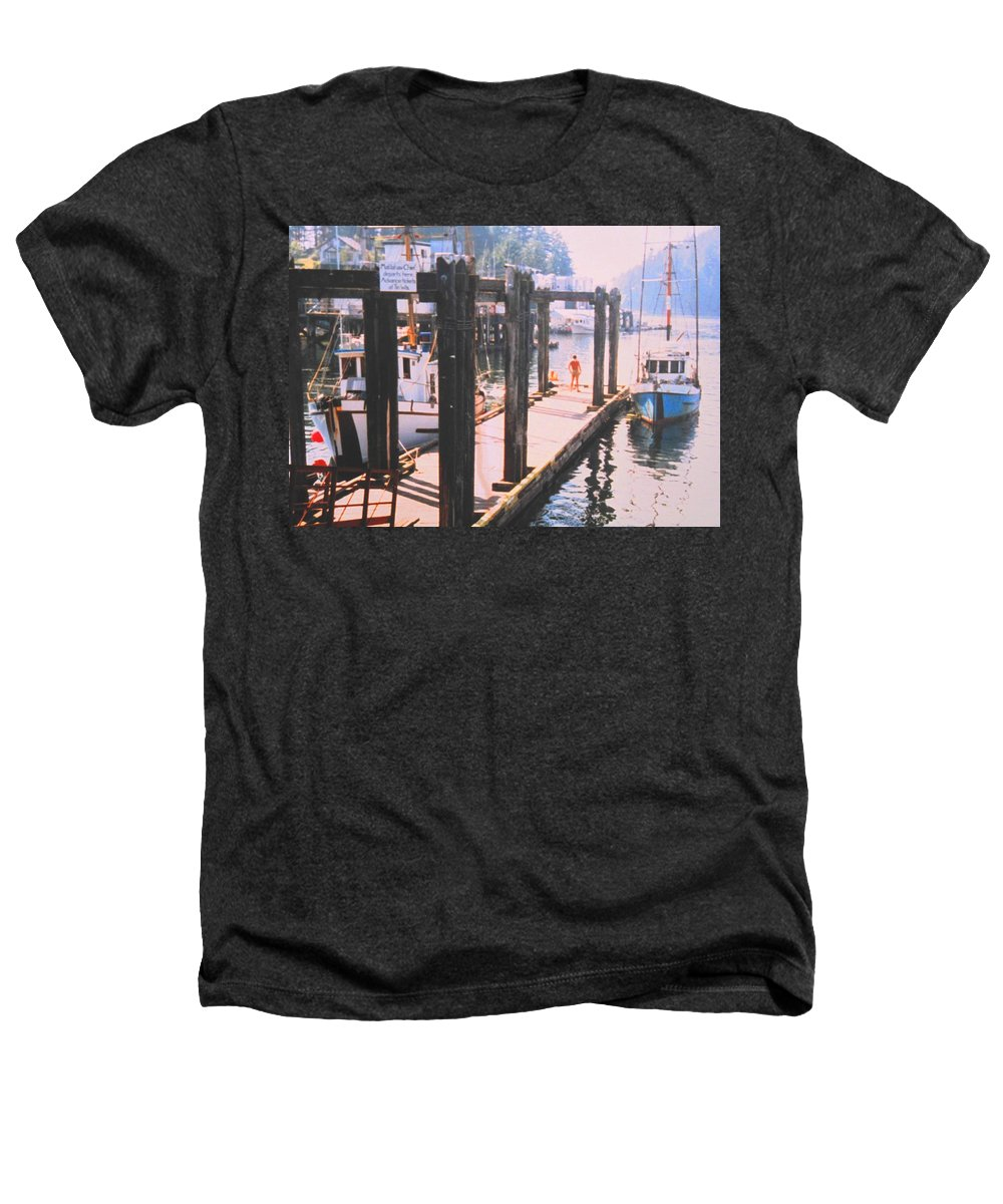 Tofino Heathers T-Shirt featuring the photograph Tofino by Ian MacDonald