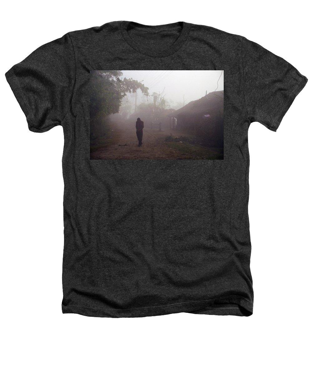 Nepal Heathers T-Shirt featuring the photograph Tristesse by Patrick Klauss