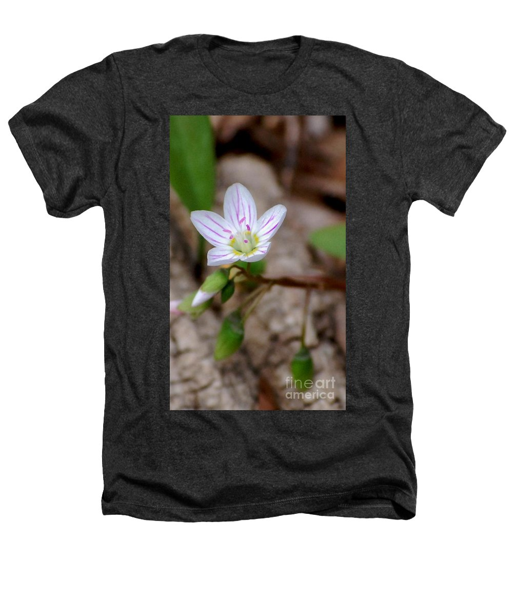 Floral Heathers T-Shirt featuring the photograph Untitiled Floral by David Lane