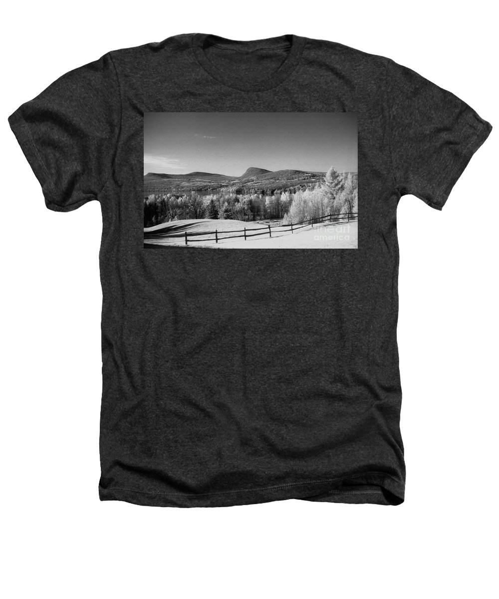 Landscape Heathers T-Shirt featuring the photograph View Of Lake Willoughby by Richard Rizzo