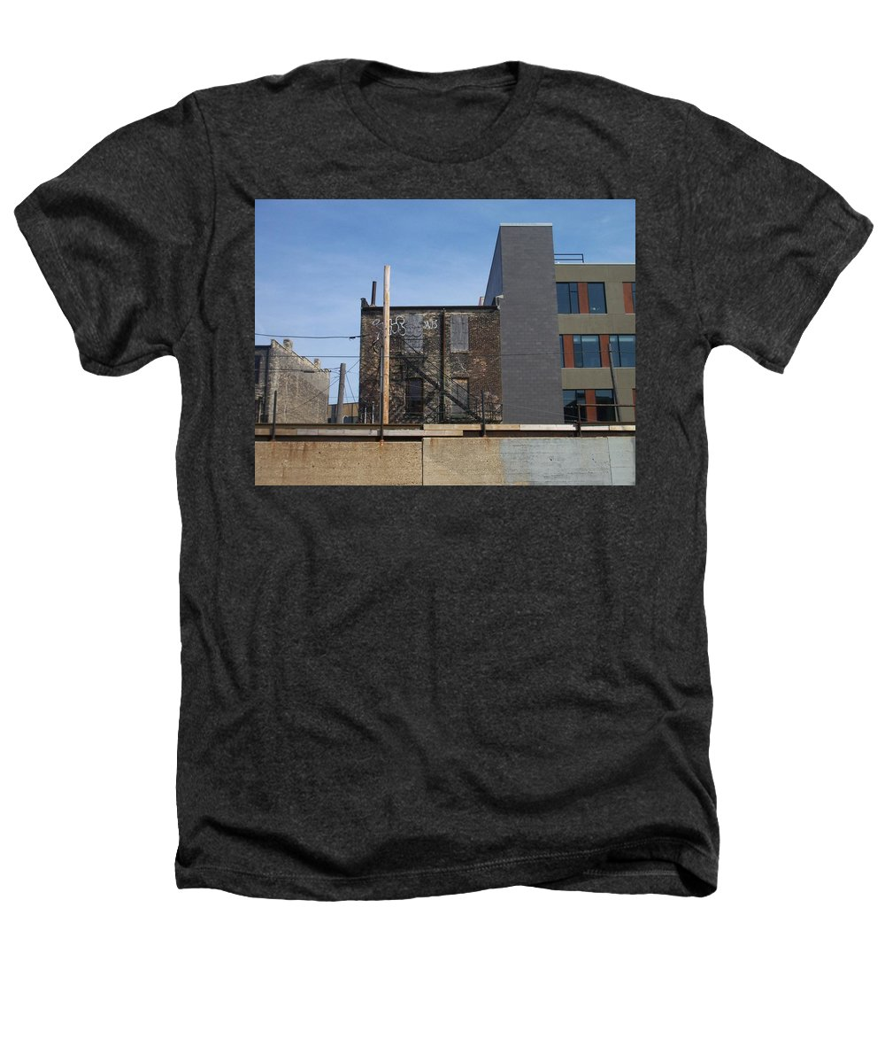Walker's Point Heathers T-Shirt featuring the photograph Walker's Point 2 by Anita Burgermeister