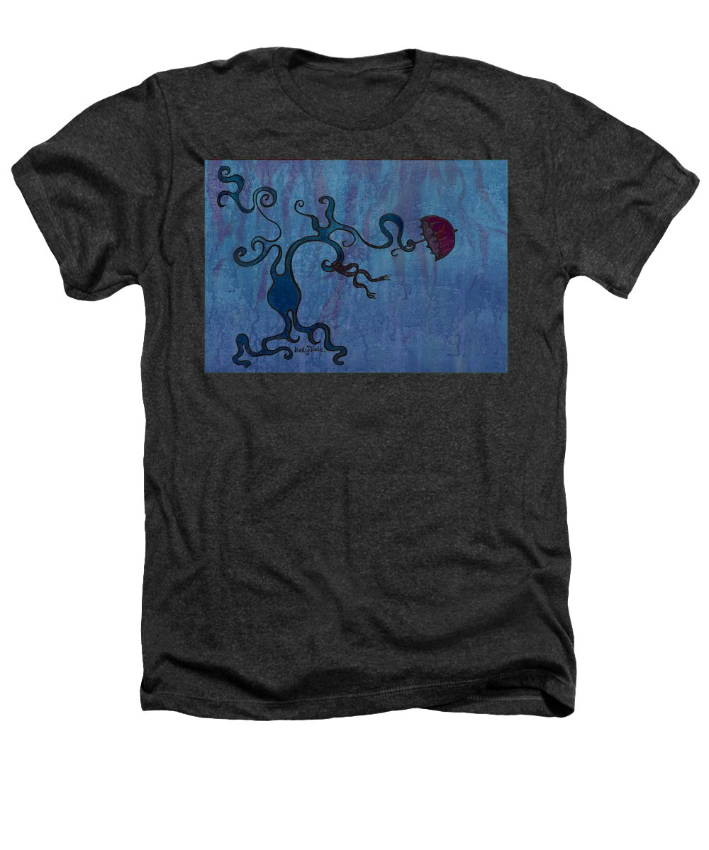 Tree Heathers T-Shirt featuring the digital art Winter by Kelly Jade King