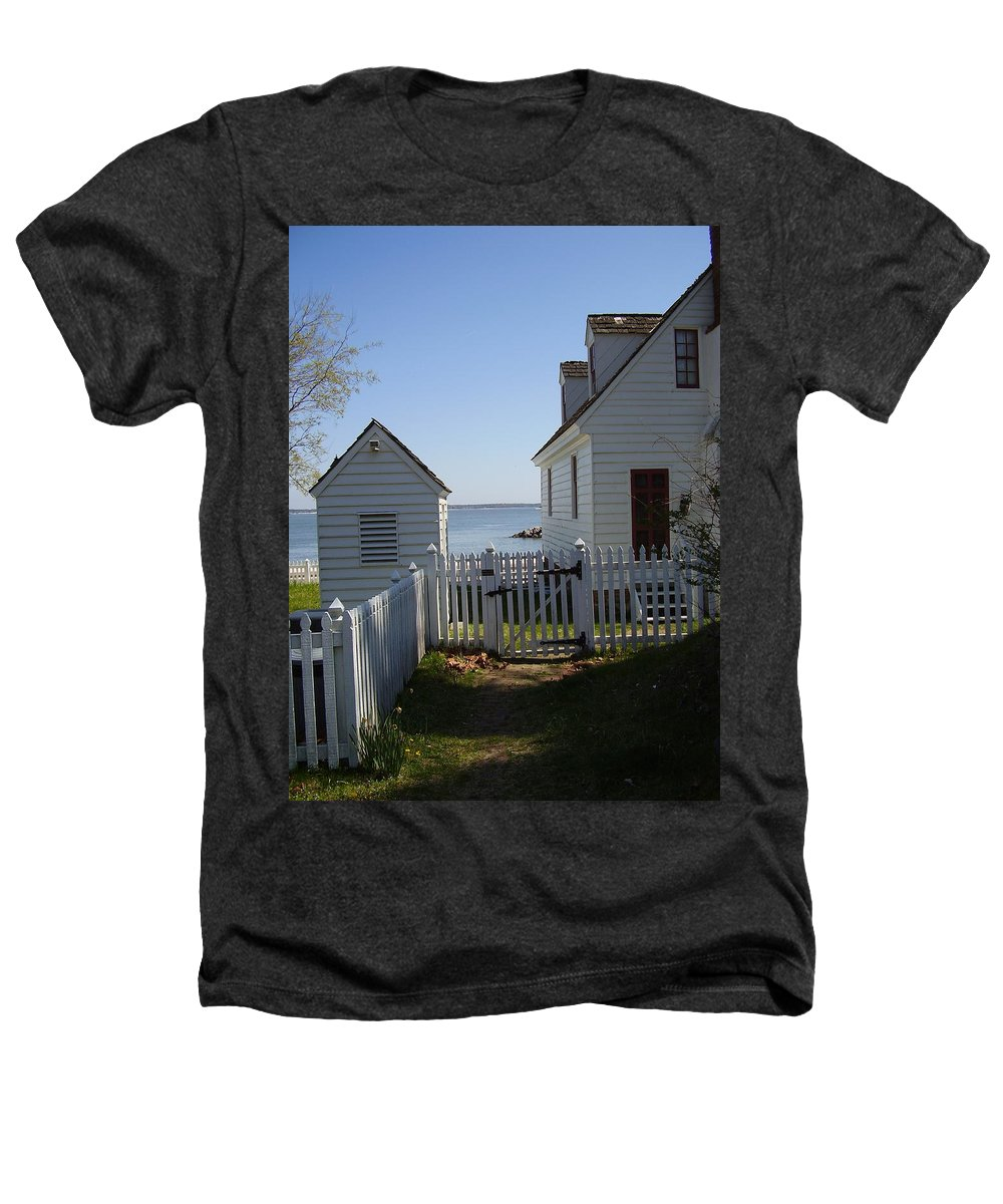 Yorktown Heathers T-Shirt featuring the photograph Yorktown by Flavia Westerwelle