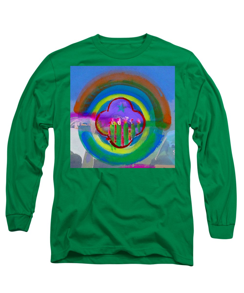 Love Long Sleeve T-Shirt featuring the painting American Spring by Charles Stuart