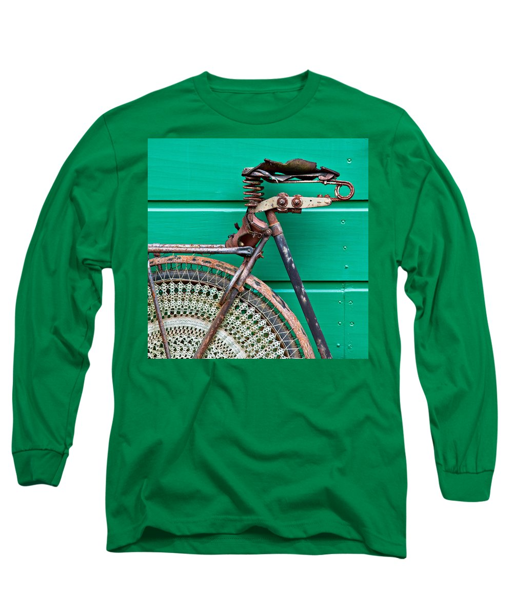 Bike Long Sleeve T-Shirt featuring the photograph Better Days by Dave Bowman