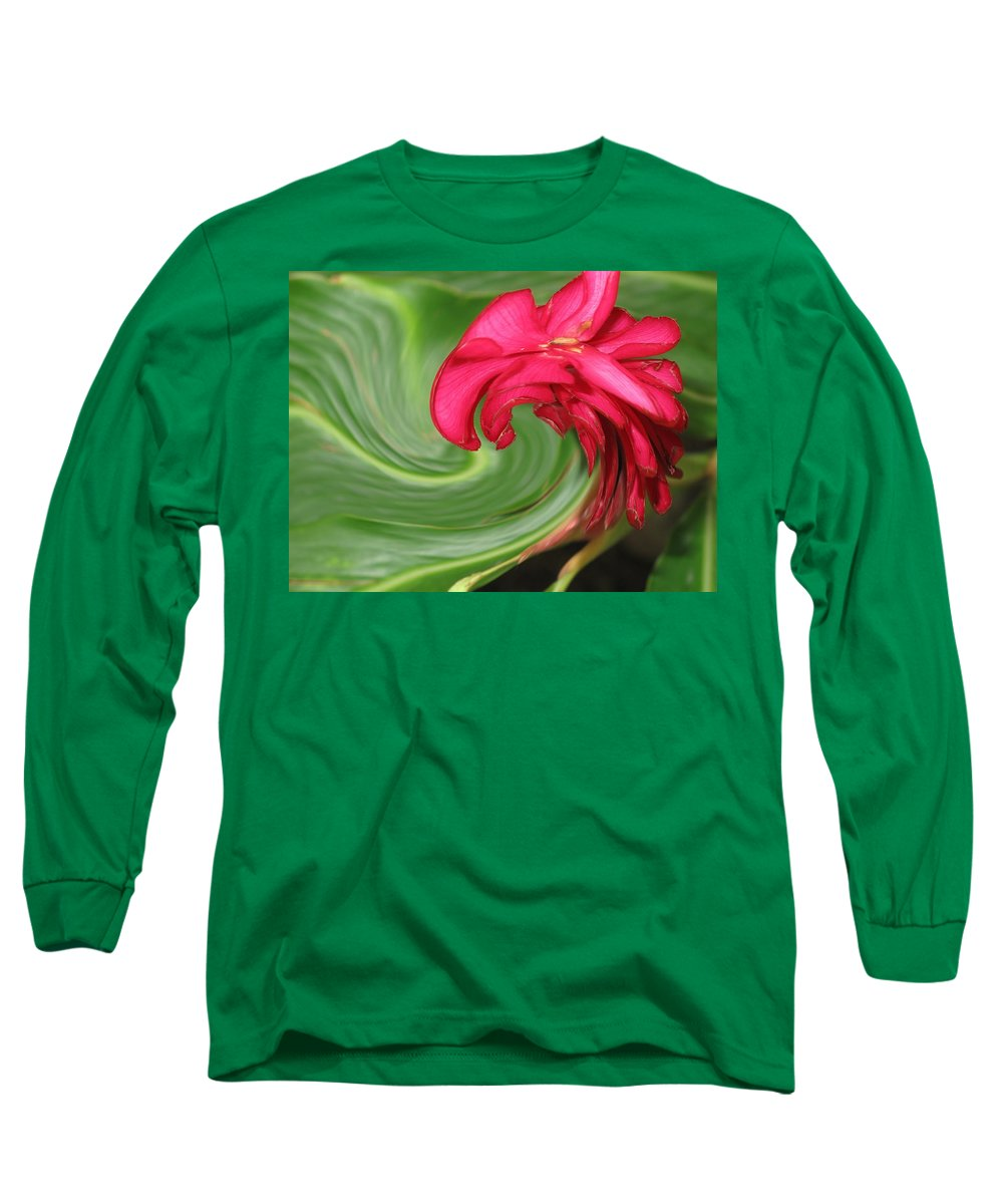 Flower Long Sleeve T-Shirt featuring the photograph Come To Me by Ian MacDonald