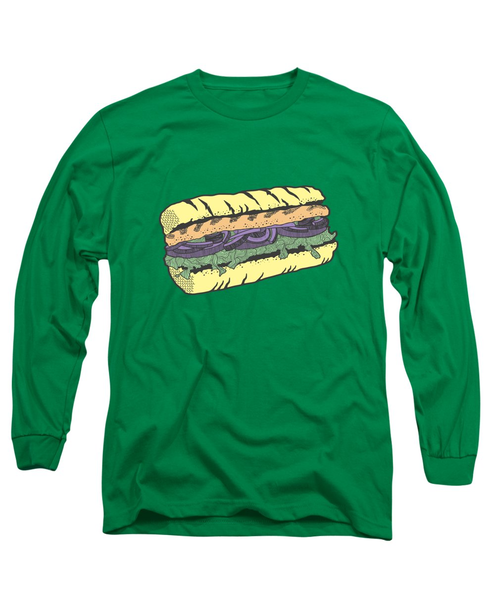 Grilled Long Sleeve T-Shirts