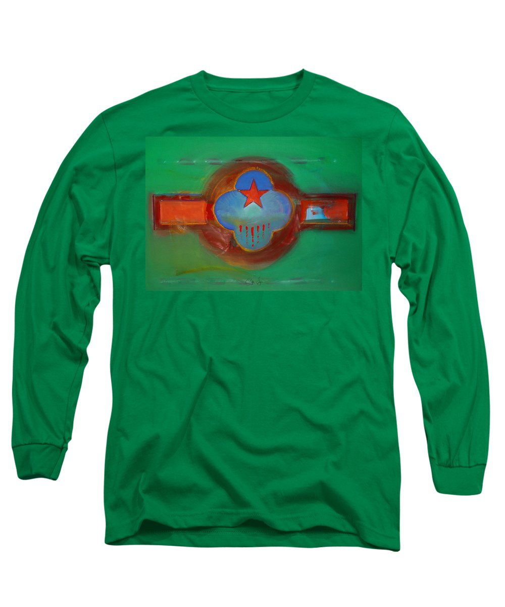 Star Long Sleeve T-Shirt featuring the painting Grand Canal by Charles Stuart