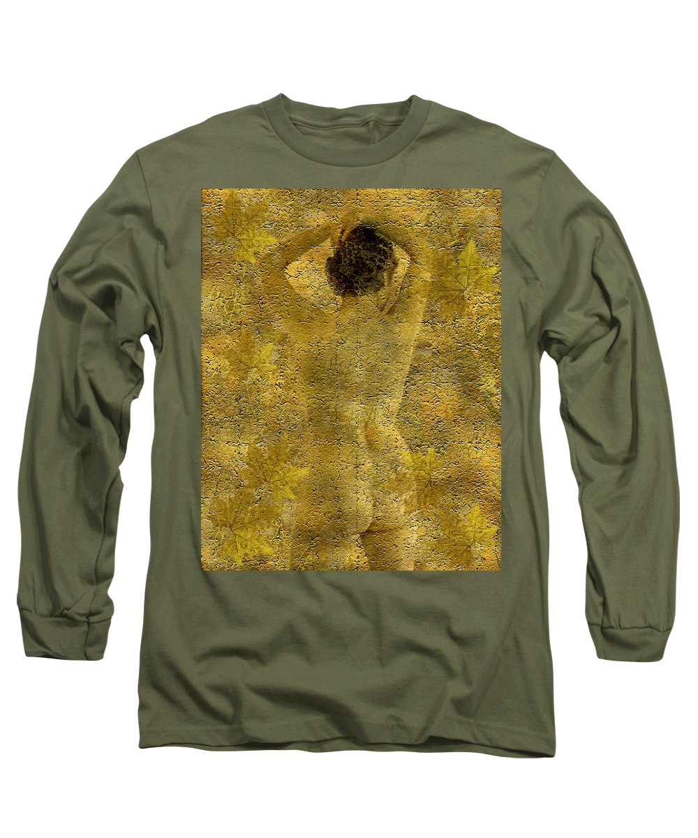 Nudes Long Sleeve T-Shirt featuring the photograph Jenni by Kurt Van Wagner