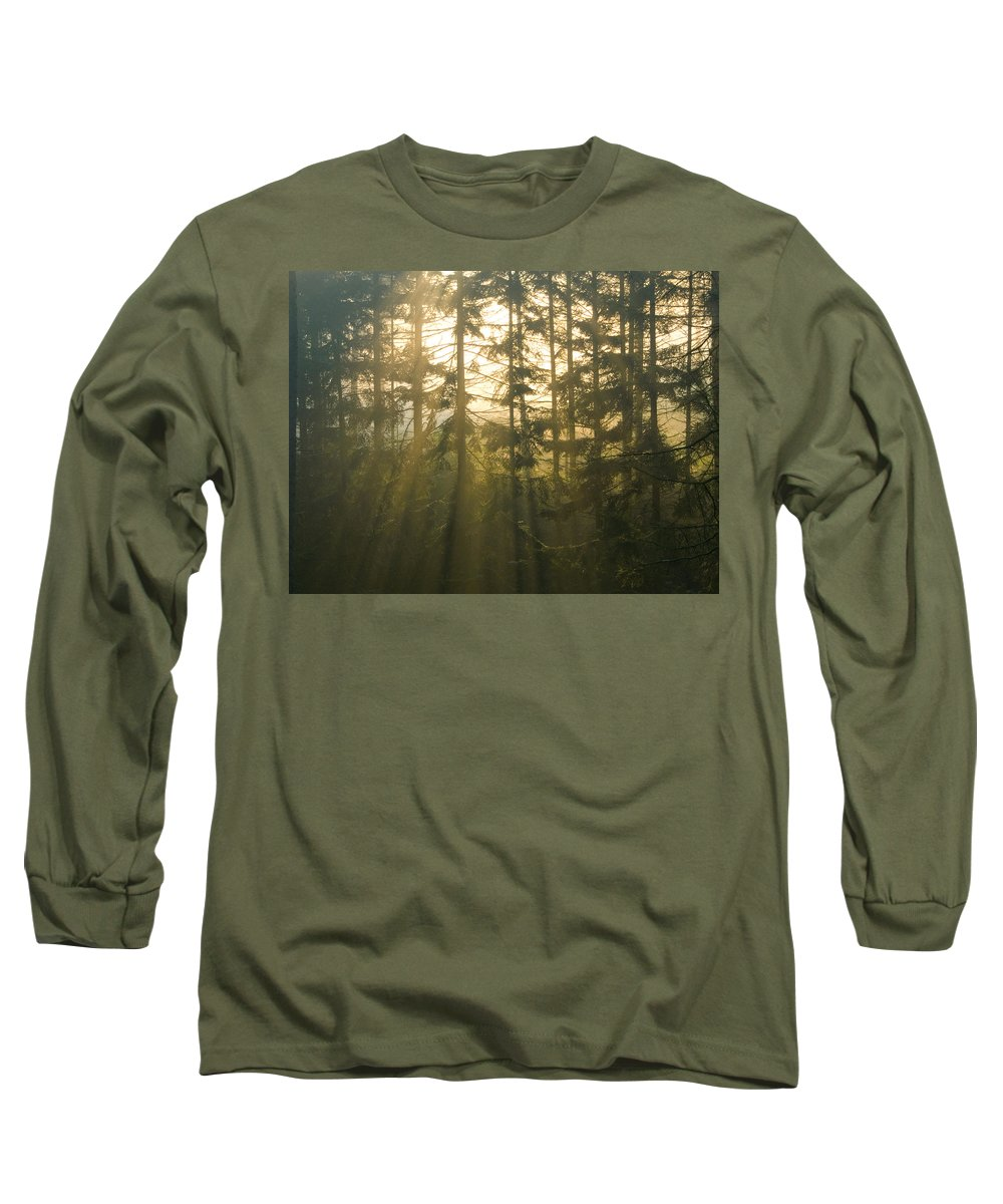 Light Long Sleeve T-Shirt featuring the photograph Awe by Daniel Csoka