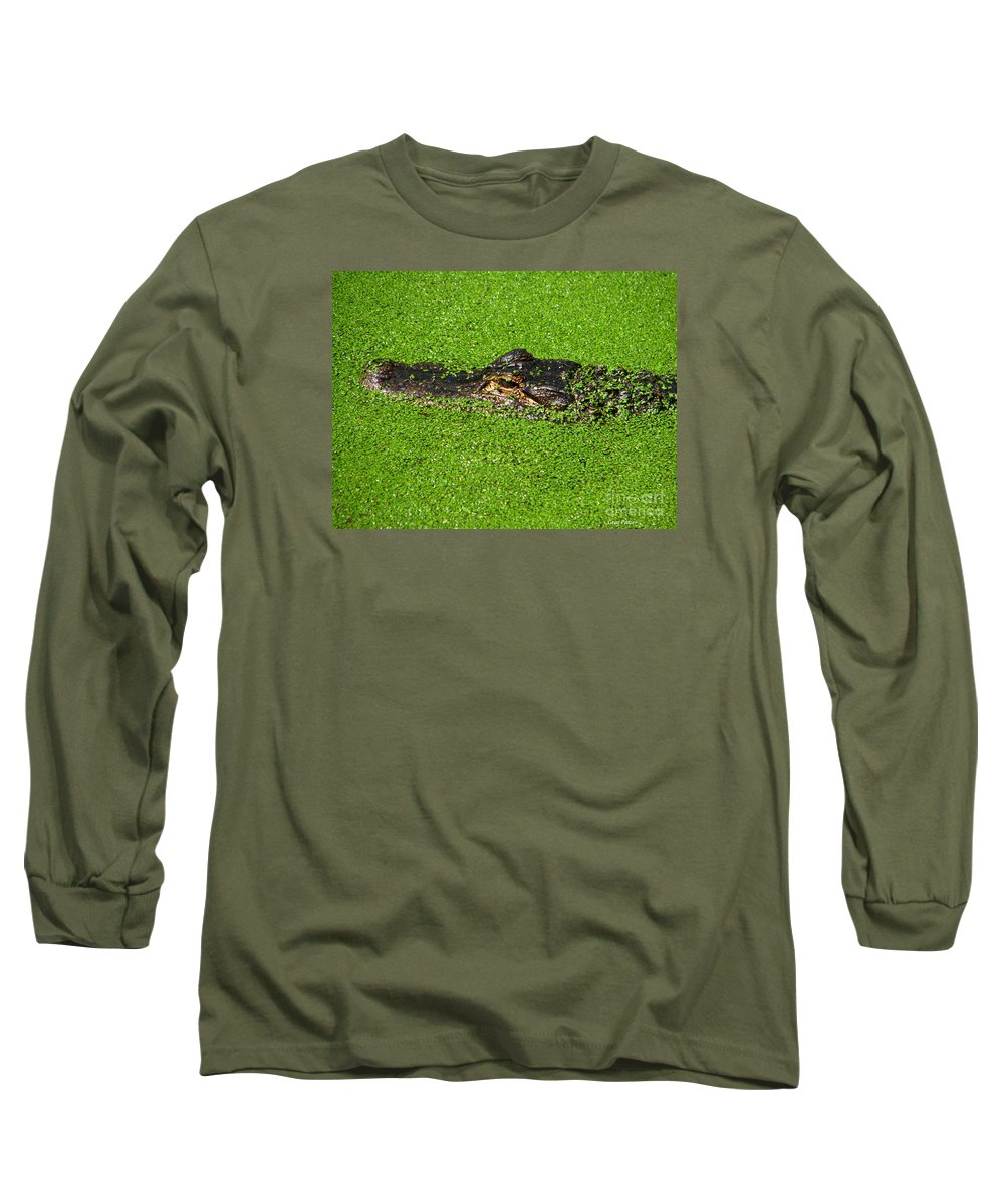 Art For The Wall...patzer Photography Long Sleeve T-Shirt featuring the photograph Incognito by Greg Patzer