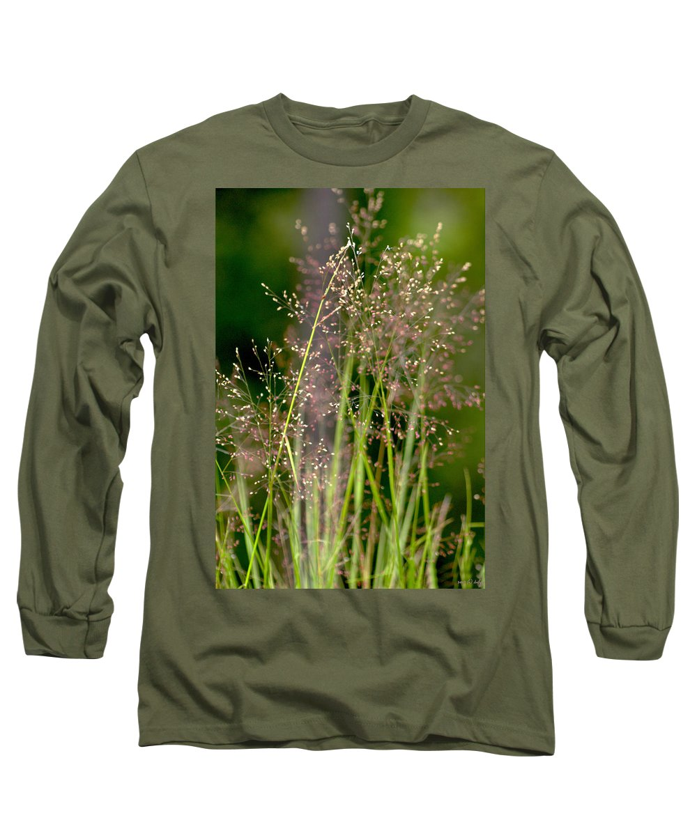 Floral Long Sleeve T-Shirt featuring the photograph Memories Of Springtime by Holly Kempe