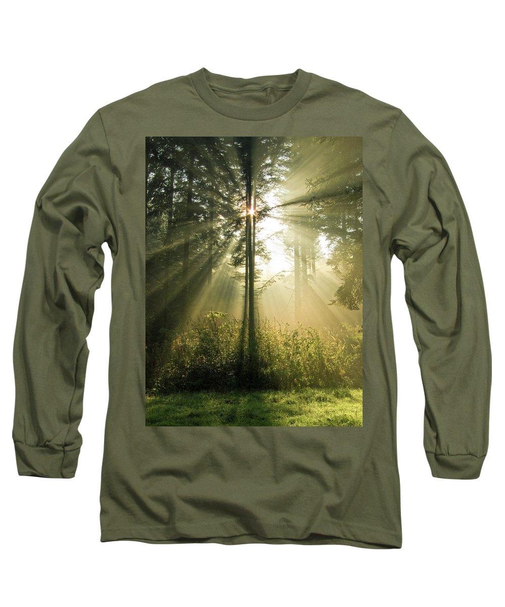 Nature Long Sleeve T-Shirt featuring the photograph Splendour by Daniel Csoka