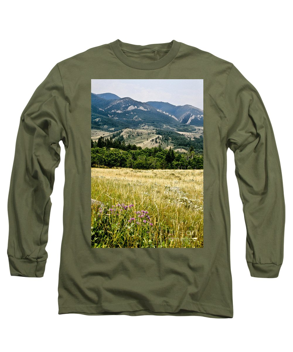 Wilderness Long Sleeve T-Shirt featuring the photograph Washake Wilderness by Kathy McClure