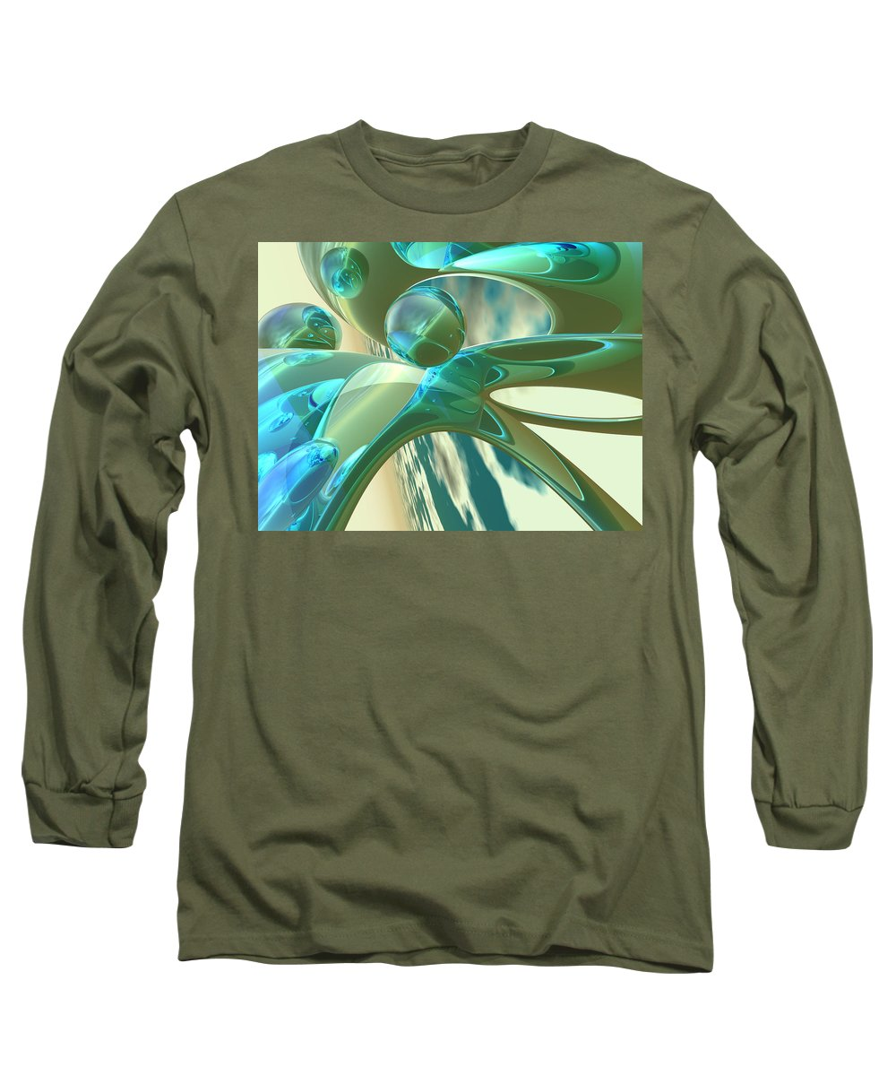 Scott Piers Long Sleeve T-Shirt featuring the painting Ashton by Scott Piers