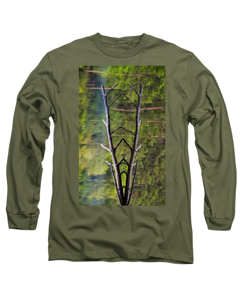 Photography Long Sleeve T-Shirt featuring the photograph Jacob's Ladder by Skip Hunt