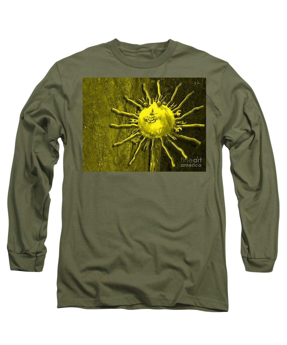 Sun Long Sleeve T-Shirt featuring the photograph Sun Tool by Debbi Granruth