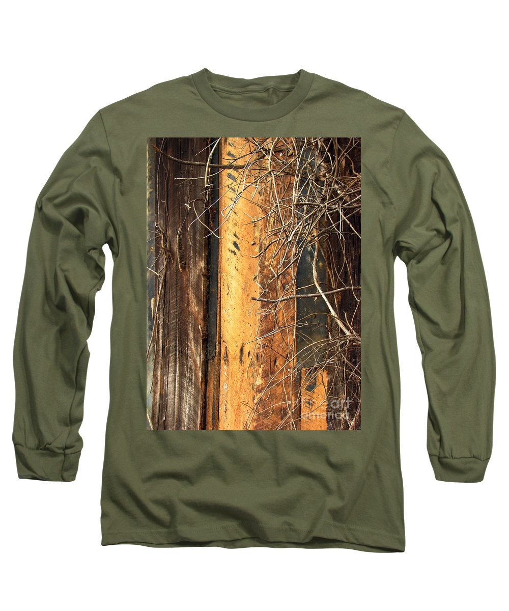 Texture Long Sleeve T-Shirt featuring the photograph Texture Series by Amanda Barcon
