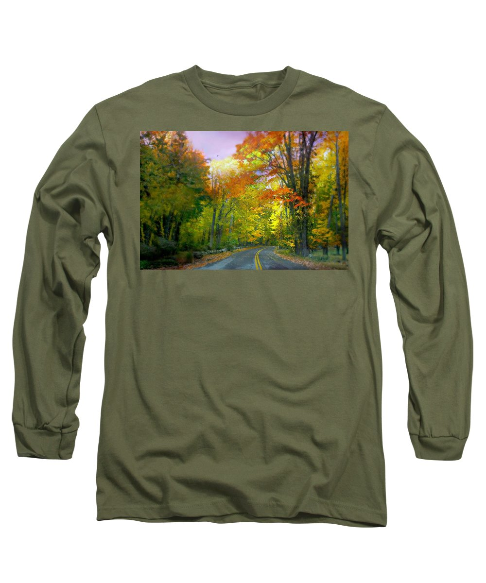 Autumn Long Sleeve T-Shirt featuring the photograph Seven Whole Days by Diana Angstadt