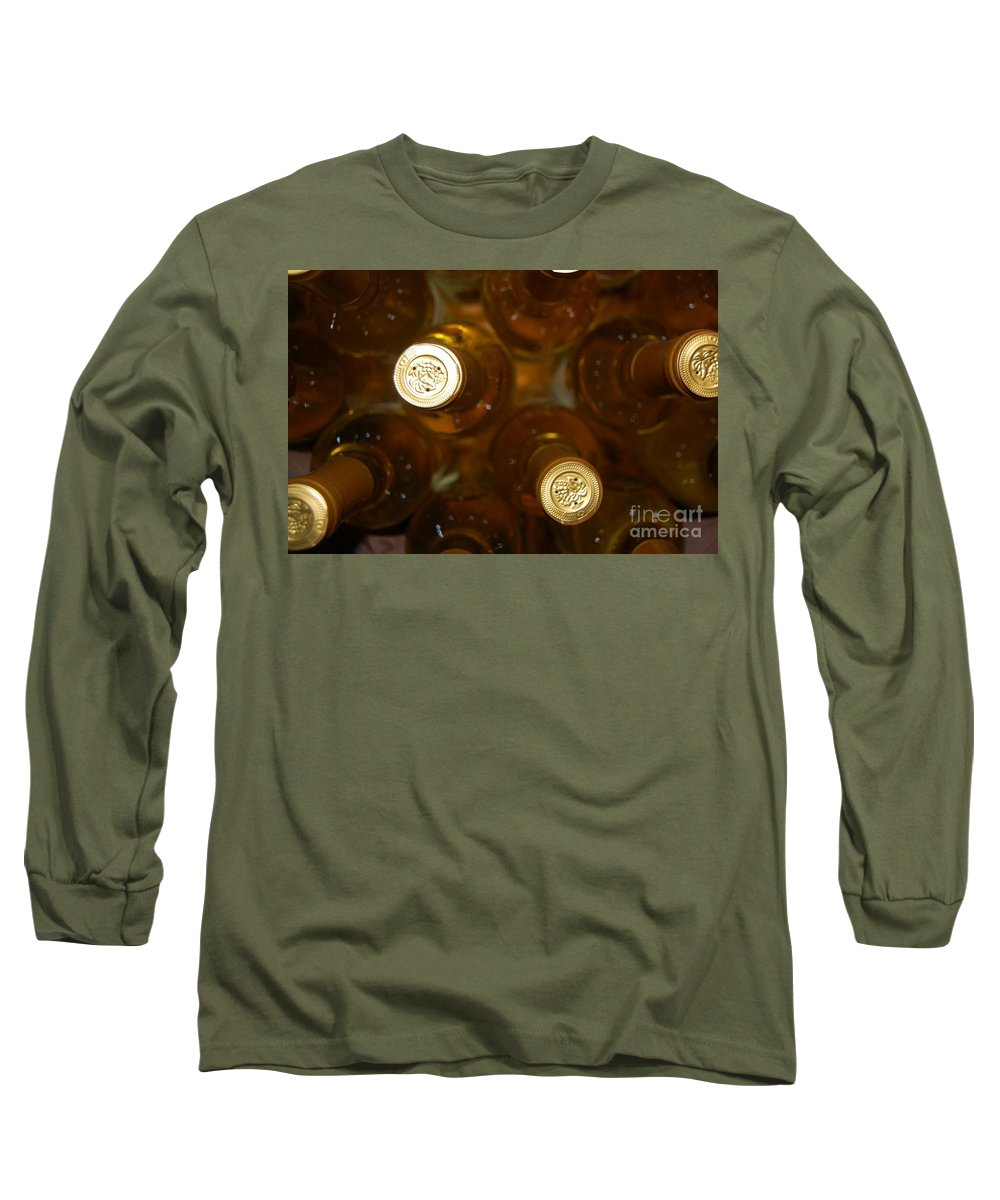 Wine Long Sleeve T-Shirt featuring the photograph Aged Well by Debbi Granruth