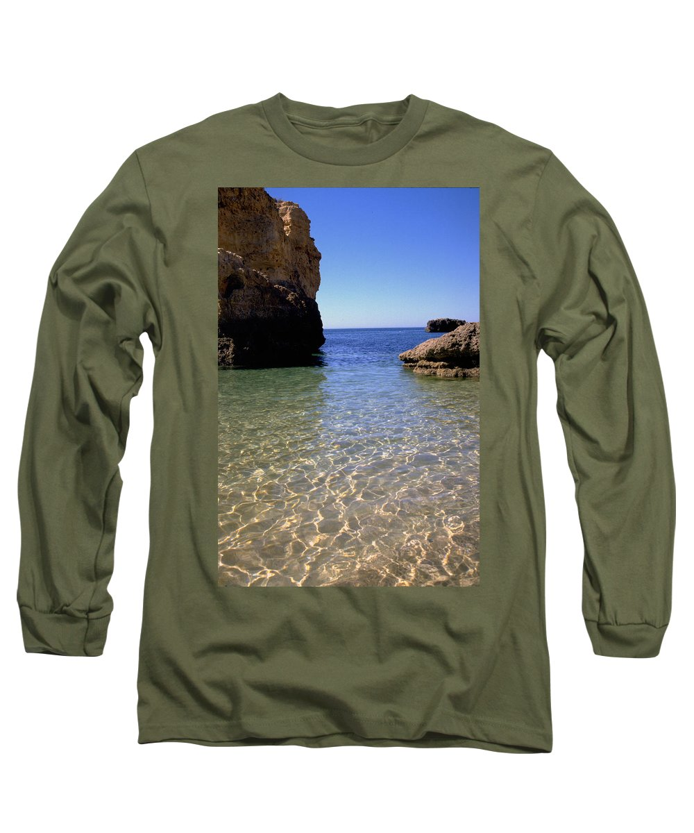 Algarve Long Sleeve T-Shirt featuring the photograph Algarve I by Flavia Westerwelle