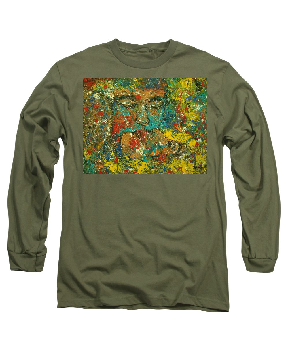 Romantic Long Sleeve T-Shirt featuring the painting Allure Of Love by Natalie Holland