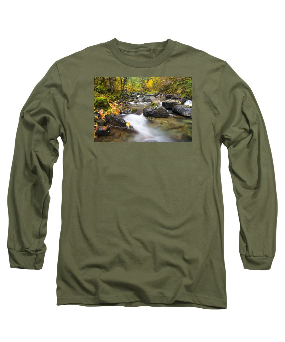 Fall Long Sleeve T-Shirt featuring the photograph Autumn Passing by Mike Dawson
