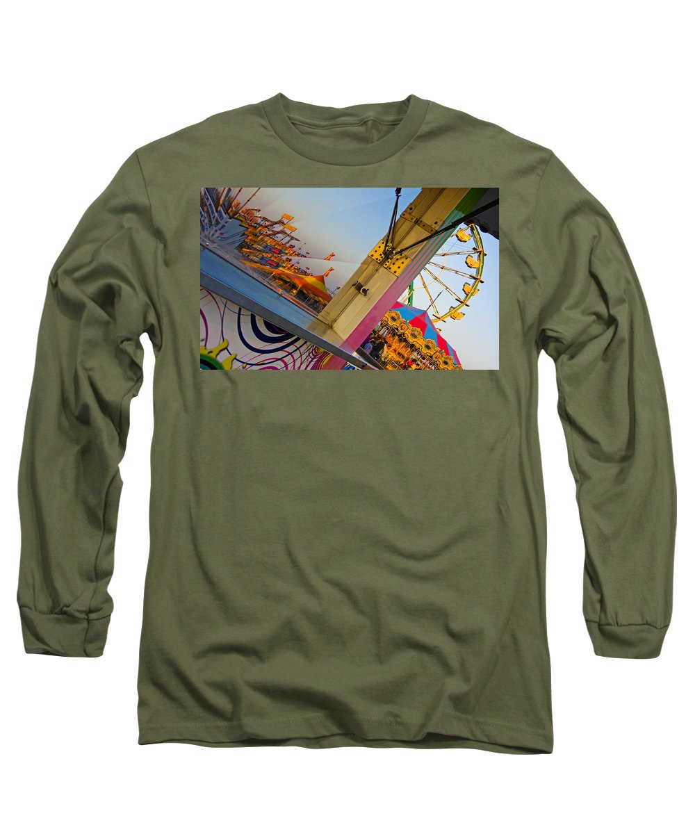 Carnival Long Sleeve T-Shirt featuring the photograph Carnival 1 by Skip Hunt
