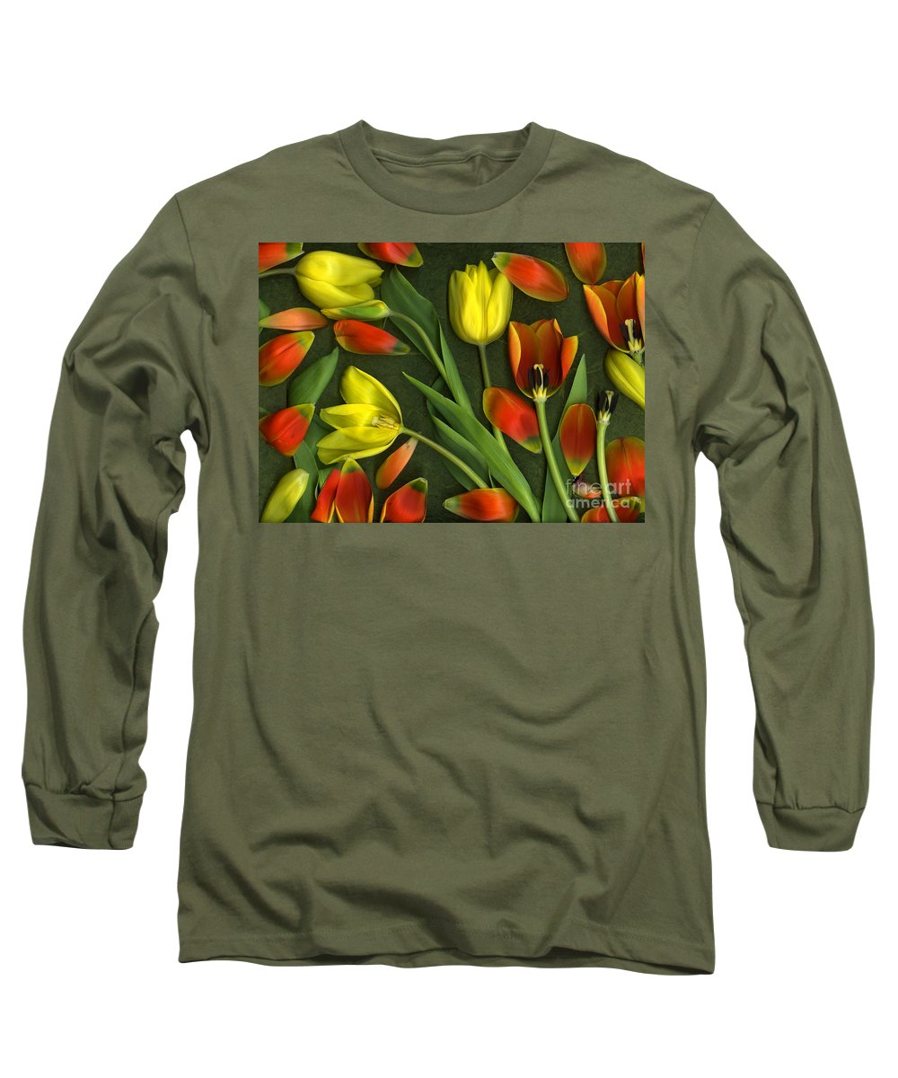 Red Long Sleeve T-Shirt featuring the photograph Carnival by Christian Slanec
