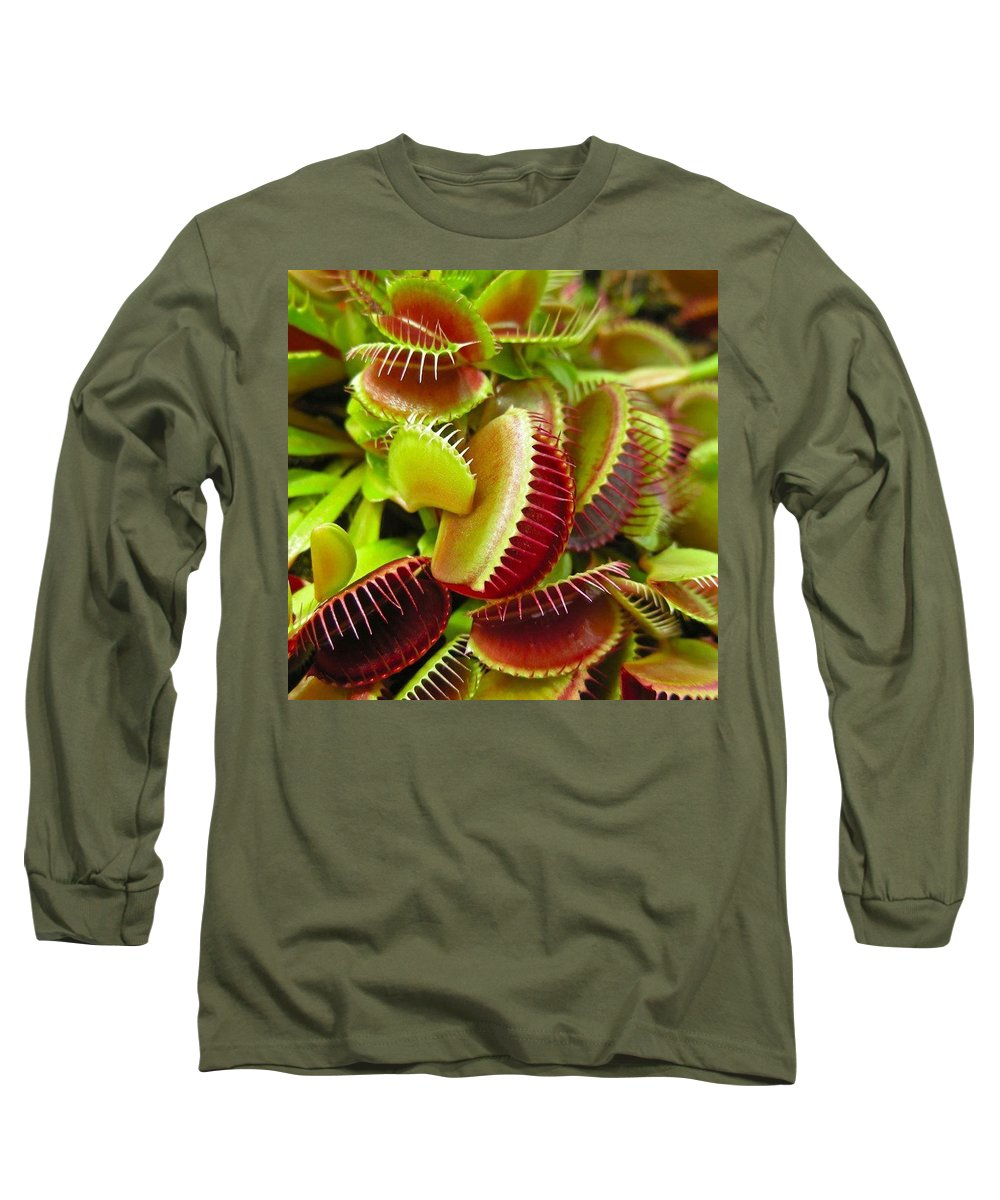 Nature Long Sleeve T-Shirt featuring the photograph Carnivores by Hoang Bui