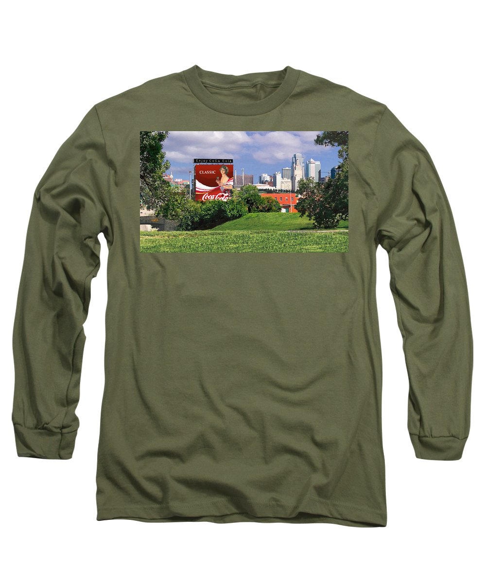 Landscape Long Sleeve T-Shirt featuring the photograph Classic Summer by Steve Karol