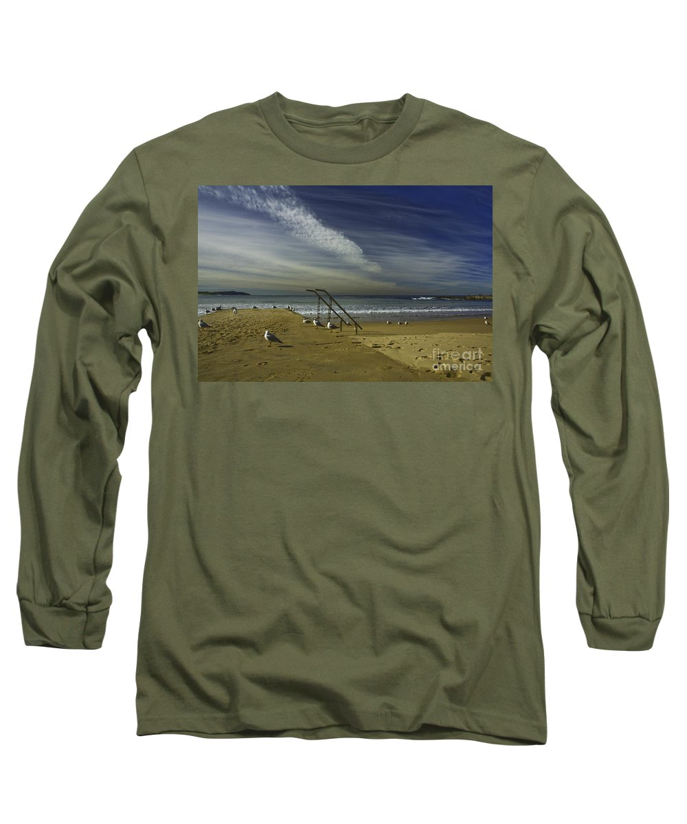 Beach Long Sleeve T-Shirt featuring the photograph Dee Why Beach Sydney by Sheila Smart Fine Art Photography
