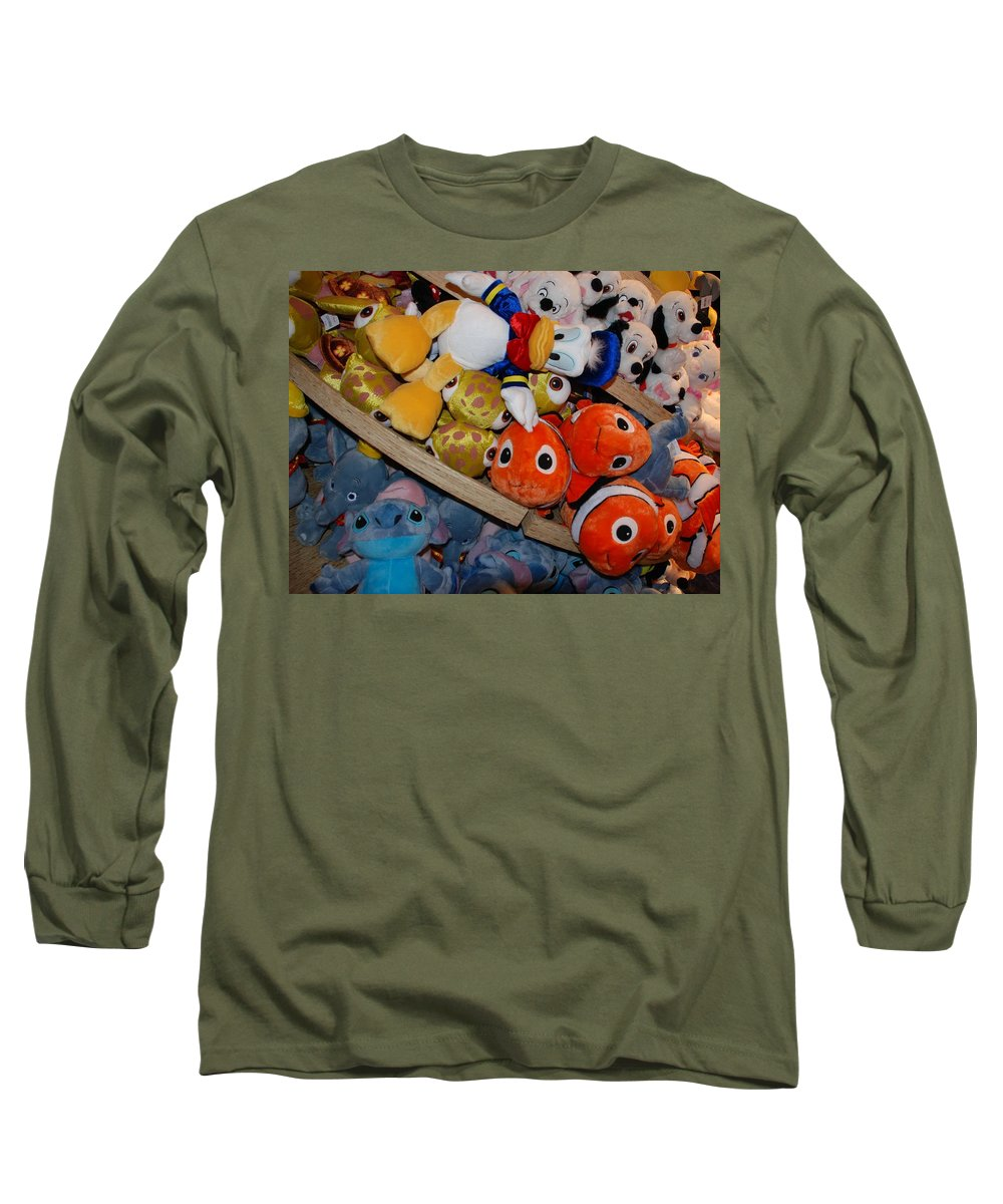 Colors Long Sleeve T-Shirt featuring the photograph Disney Animals by Rob Hans