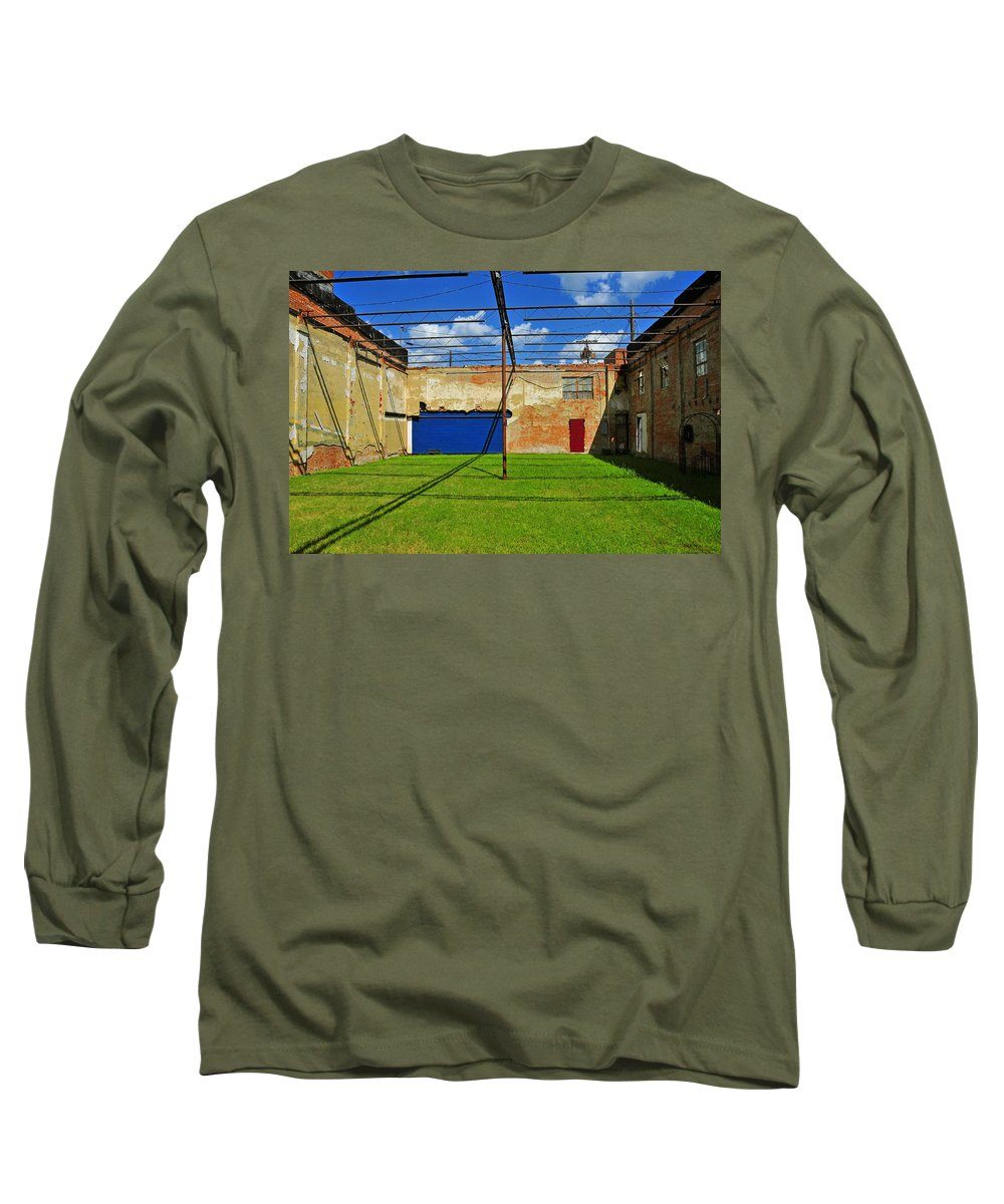 Skiphunt Long Sleeve T-Shirt featuring the photograph Eco-store by Skip Hunt