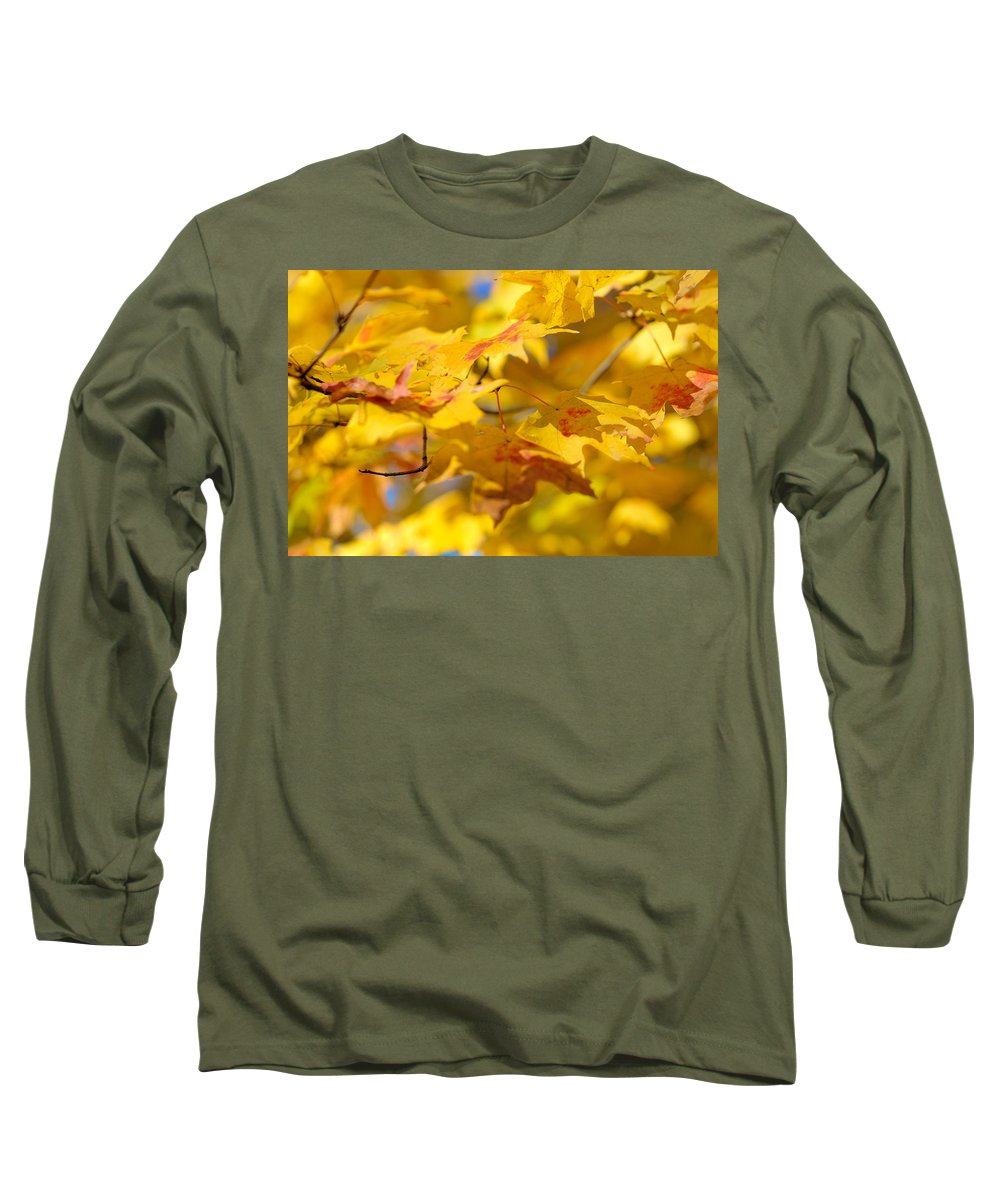 Nature Long Sleeve T-Shirt featuring the photograph Fall Colors by Sebastian Musial