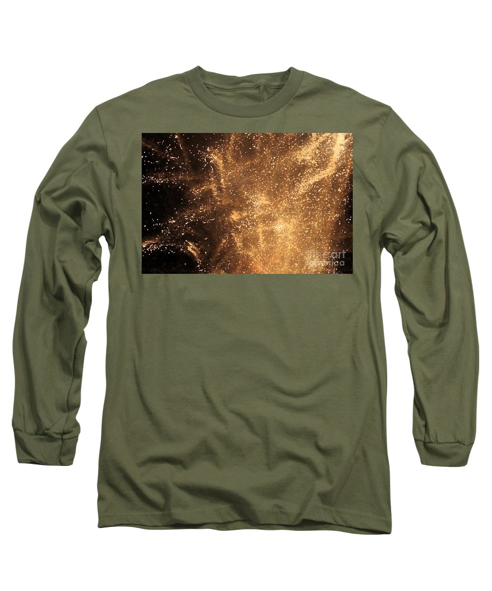 Fireworks Long Sleeve T-Shirt featuring the photograph Fired Up by Debbi Granruth