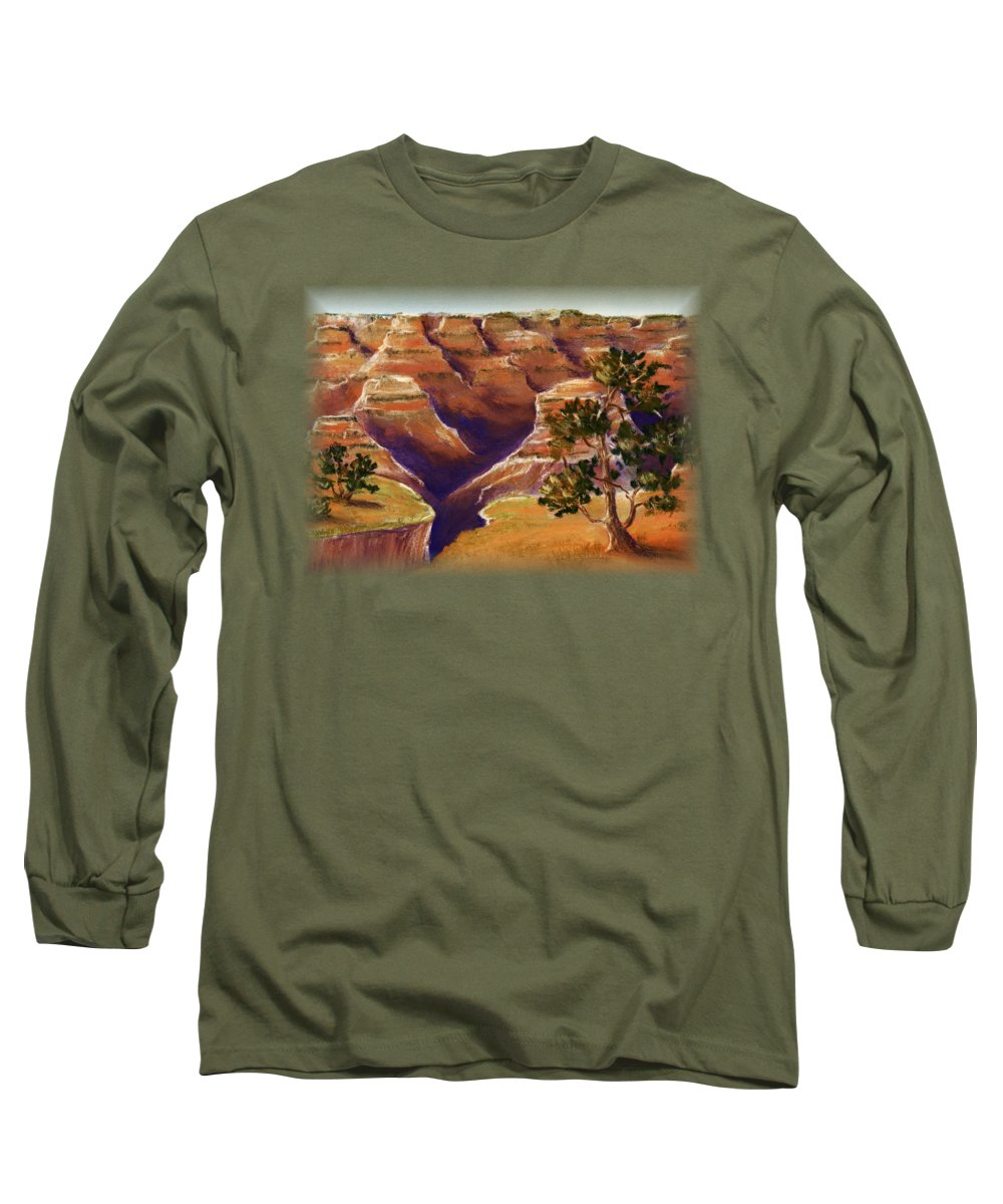Grand Canyon Long Sleeve T-Shirts