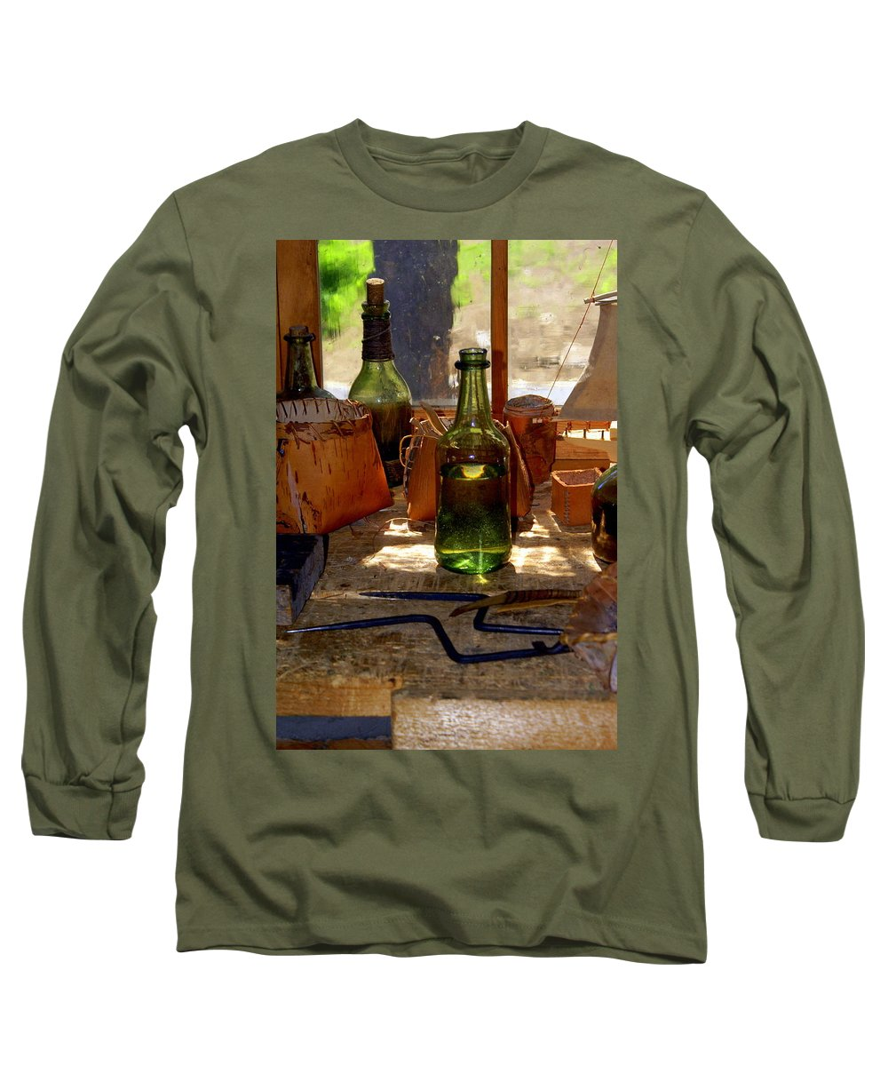 Still Life Long Sleeve T-Shirt featuring the photograph Historic Still Llife by Marty Koch